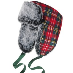 Childrens-Tartan-Trapper-Hat